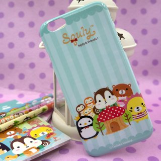 iPhone 6 Back Case (Happy forest life!) (D021SQE)