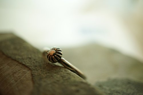 【janvierMade】Sunshine Sterling Silver Ring / Minimalist Sunshine Ring / 925 Sterling Silver Handmade