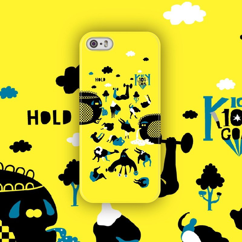 ▷ Umade ◀ aside 10KG [iPhone7 (i7, i7plus, i6, i6s, i6plus, i6splus, i5se, i5s, i5c) / Android (Samsung, Samsung, HTC, Sony) Phone Case / Accessories - matte hard shell - artists ] Angke Lu UNCU