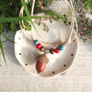 Inner Mongolia Acorn Necklace