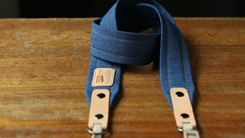 HIPSIONG camera strap - southerly platform (blue)