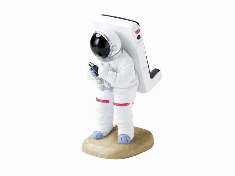 Japan Magnets high texture super cute desktop phone holder / mobile phone holder (spaceman) - spot