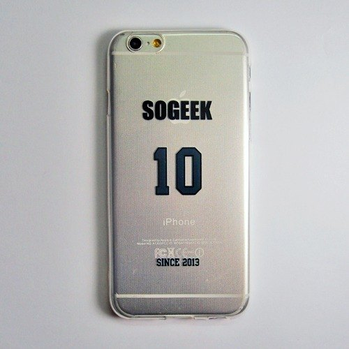 SO GEEK phone shell design brand THE JERSEY GEEK jersey back number Customized paragraph 031