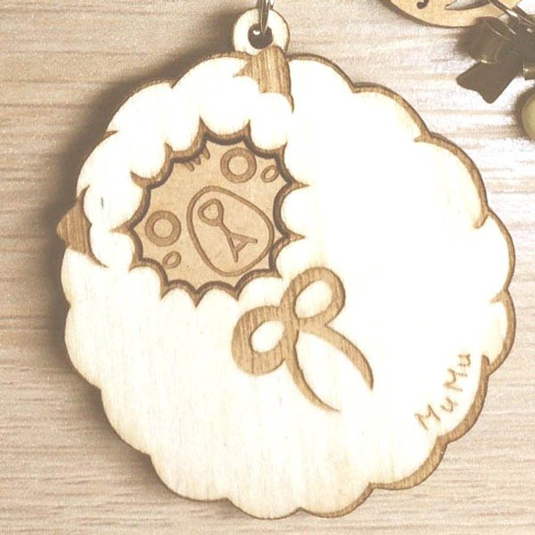 MuMu Sweety ✿ winter alpaca promoter / key ring