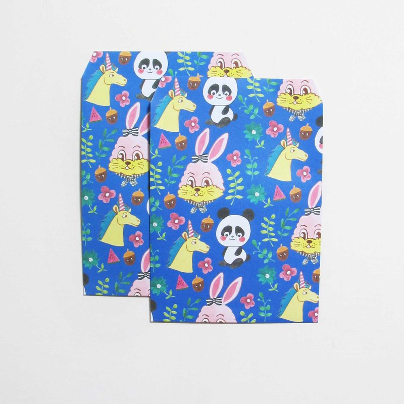 panda animal pattern grocery valentines bags can also be envelopes