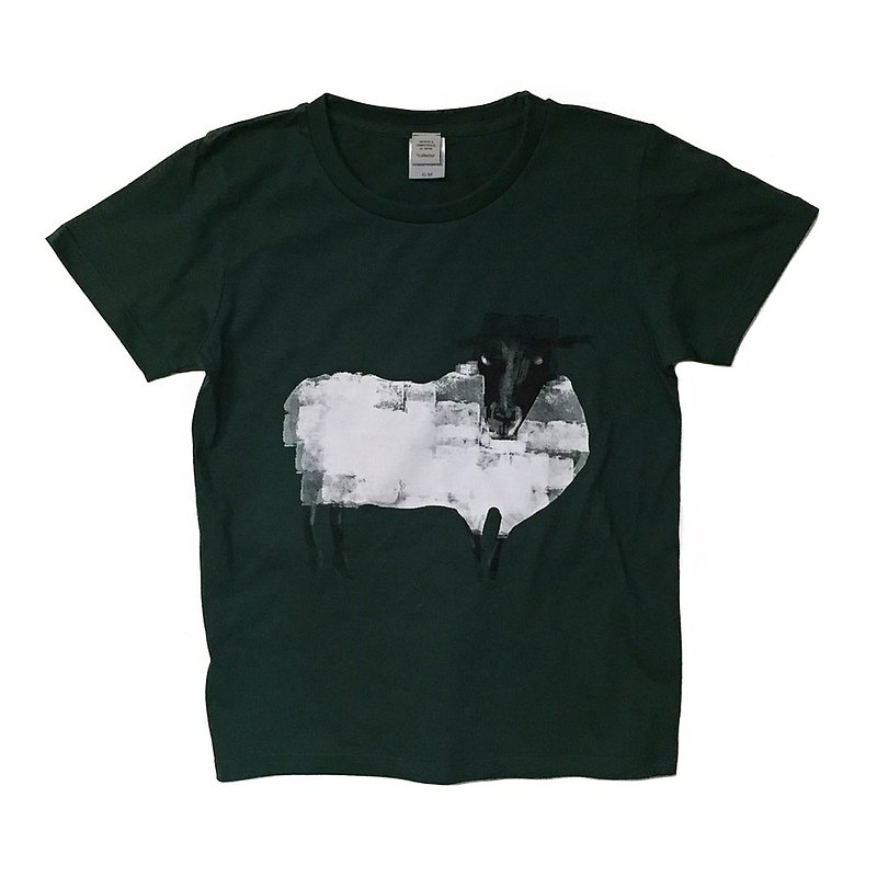 Sheep 2 illustrations T-shirt Tcollector