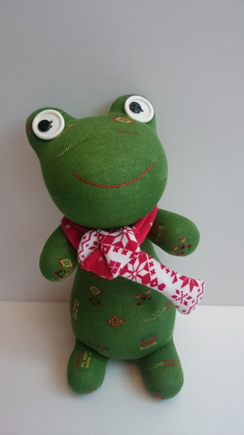 Christmas frog doll socks doll frog Christmas gift