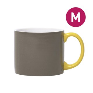 Jansen + co toner cup M - carbon gray + yellow
