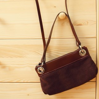[Happa] hand / hatchback dual portable packet - stonewashed canvas classic (Brown earth Brown)