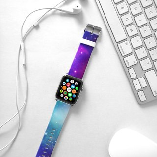 Apple Watch Series 1 , Series 2, Series 3 - Star Night Watch Strap Band for Apple Watch / Apple Watch Sport - 38 mm / 42 mm avilable