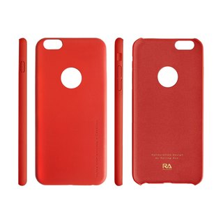 【Rolling Ave.】Ultra Slim iphone 6s plus / 6 plus 手感皮質護套-經典紅