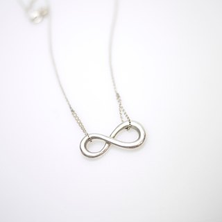 [Infinity] infinite love sterling silver necklace classic designer brand merchandise