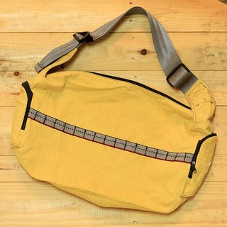 "EARTH.er  │""YELLOW BIKE"" Natural Dye BIKE Shoulder Bag│"