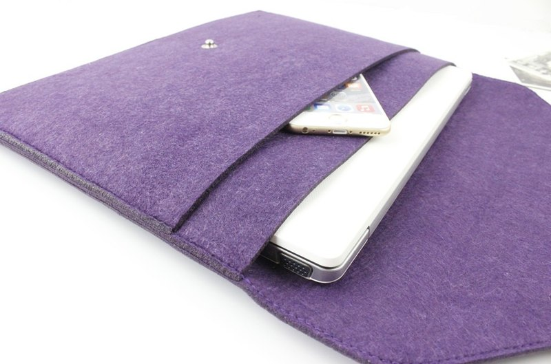 "Original Handmade Purple Blanket Apple Computer Case Blouse Set Bagbook Macbook Air 13.3 Computer Bag MacBook Air 13 ""(ZnY057PU13A)"