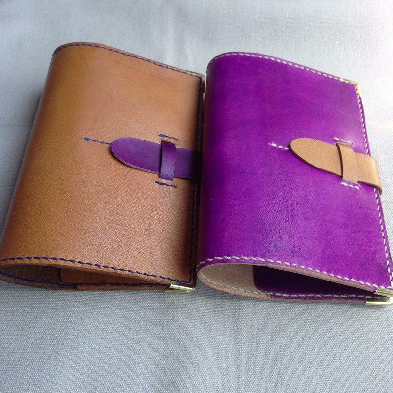 復古皮革書型護照套