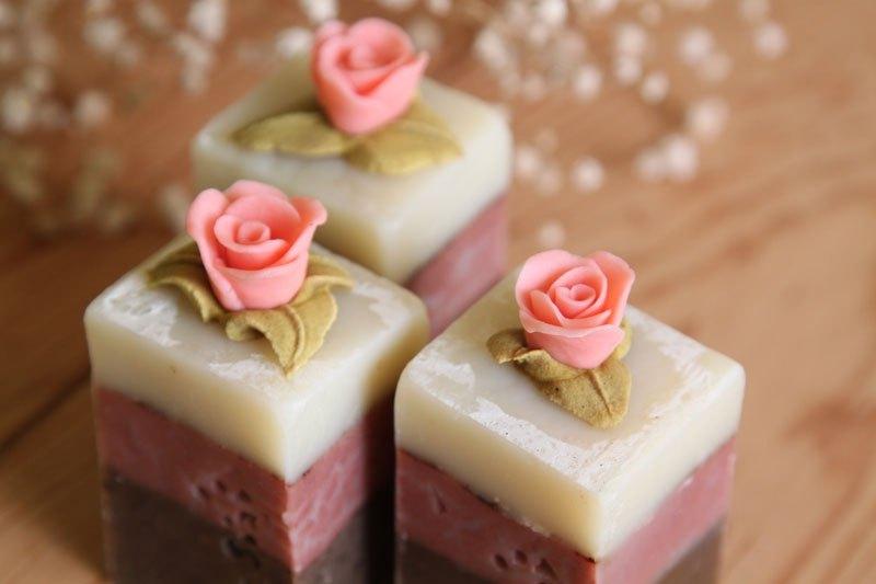 冥想玫瑰 手工皂
