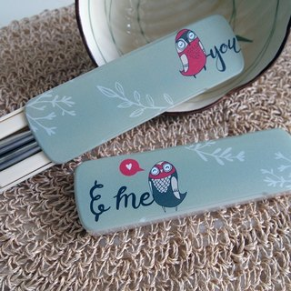Chopsticks - You & amp; Me Valentine's Day / wedding gift