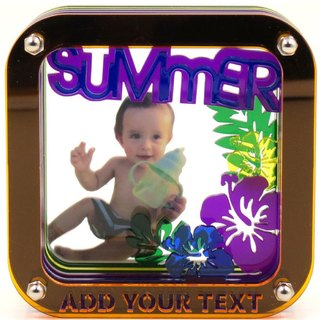 Customized perspective Puzzles Frame - hot summer theme x Personalized