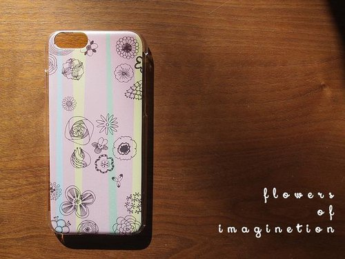 iPhoneケース✳flowers of imagination (全6色)