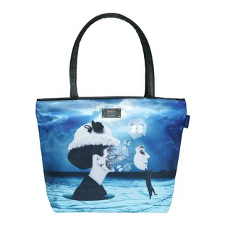 COPLAY tote bag II-Surreal Hepburn