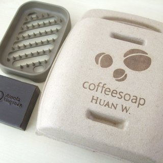 Coffee handmade soap gift box