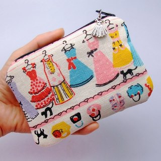 Zipper pouch / coin purse (padded) (ZS-43)