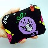 拉鍊零錢包,卡片包,鑰匙包,耳機包,小物包 (可愛娃娃) (ZS-46)