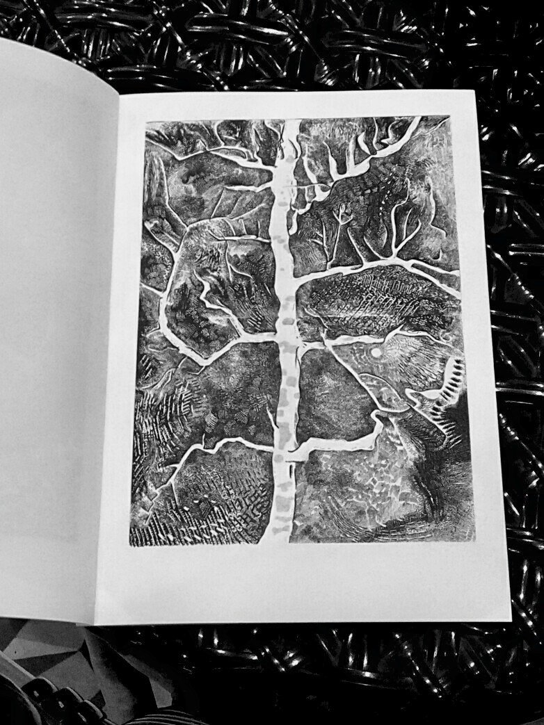 Liuyingchieh Mobile Book Three Trees Cold Water Hole A Tree Sketch Book ART ZINE