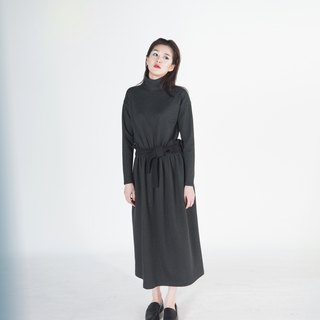 Numa Turtleneck Maxi Dress