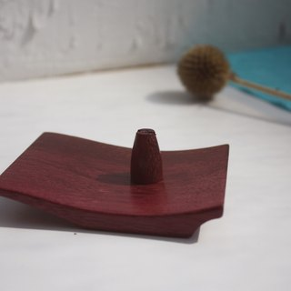 Purple Heart wood multipurpose small fragrant dish