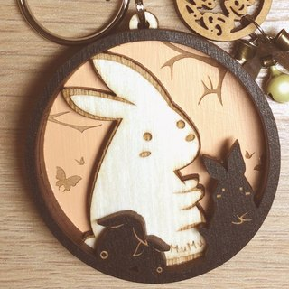 MuMu Sweety ✿ Flower Rabbit Bonus / Key Ring / Hardcover