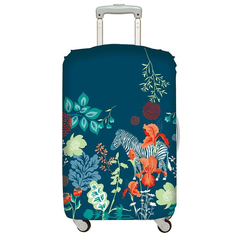 LOQI luggage jacket │ jungle zebra L number