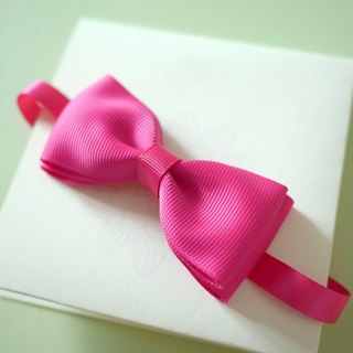 Little boys tie Bow Tie (pink)