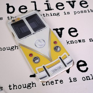Ultra Bus Yellow Print Soft / Hard Case for iPhone 5/5S, iPhone 4/4S, Samsung Galaxy Note 4 Note 3, S5, S4, S3