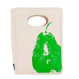 Canadian fluf small pear organic cotton bag/handbag/handbag