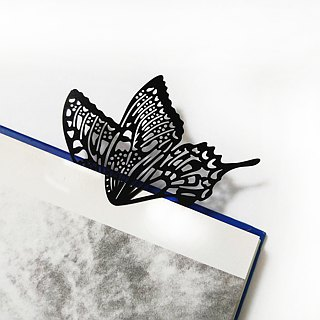 MARK TAIWAN Mai Mai Zoo - Huang Papyrus bookmark / metal black