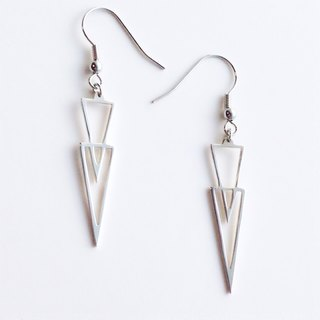 [Orders] production Earrings / Silver 950 icicle design