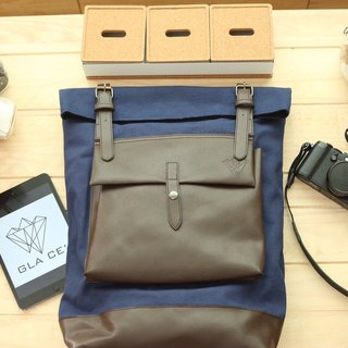 Blue Glace' Backpack First Edition
