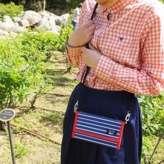 & SMART.NOTE Hip-back passport phone bag touch - three-color PINE