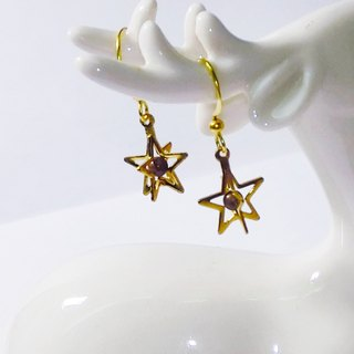 ❡ perspective Little Star Earrings
