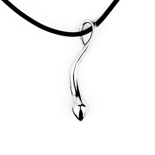 [Free shipping] I AM - Retro Simple Courage series stainless steel necklace from the source of life