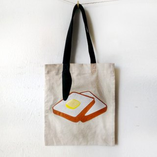 Breakfast Tote Bag: Bread & Butter