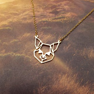 Chihuahua, Dog Portrait, Dog Necklace, Geometric Necklace, Dog Lover, Dog Gifts