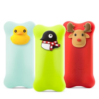 Bone / Bubble Action Power 6700mAh - Penguin / Duck / Elk