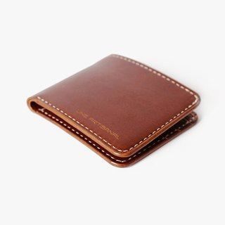 [Carpenter] LINE ARTISANAL line of original hand-tanned leather wallet cow Pi Duoka bit Sew