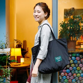 ntmy. Large memory fabric TOTE bag handbag commuter bag black