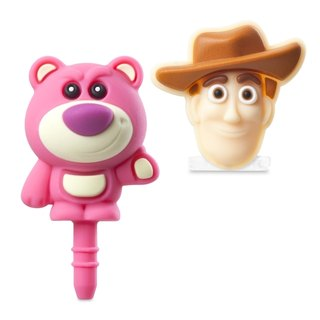 Lightning dust plug set - Woody & amp; bear hug brother [Toy Story]