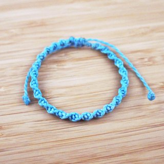 [DNA] silk wax line braided bracelet