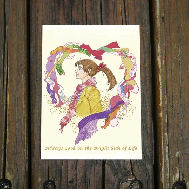 Warm Heart / Postcards * girl to be strong