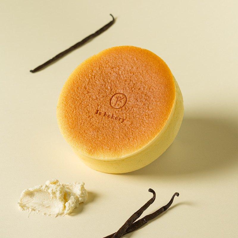【1%bakery父親節蛋糕】蹦啾香草輕乳酪蛋糕6吋
